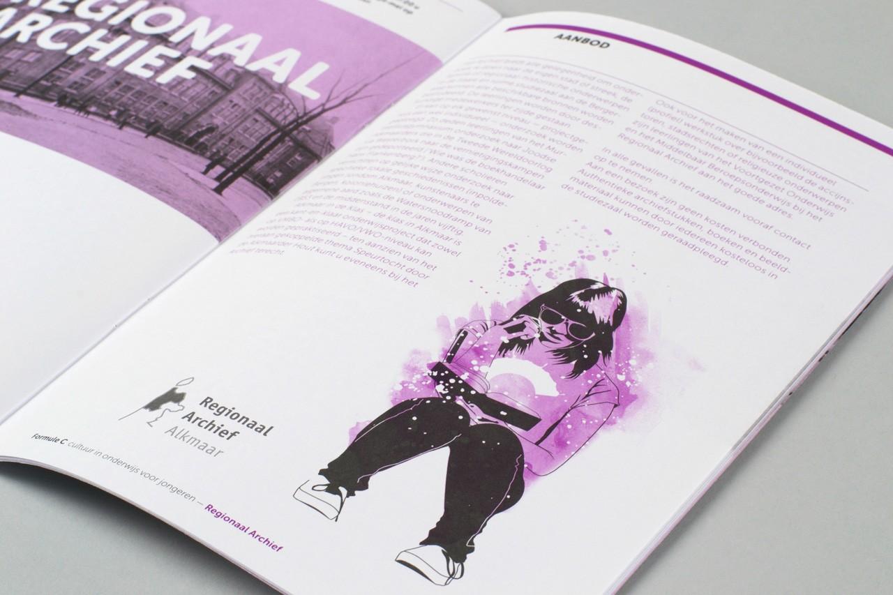 cultuur-educatie-les-regionaal-archief-for-logo-ontwerp-website-huisstijl