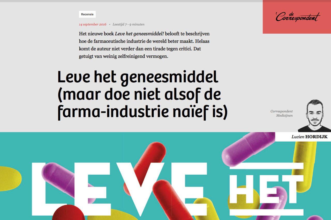 leve-geneesmiddel-recensie-correspondent-logo-ontwerp-website-huisstijl